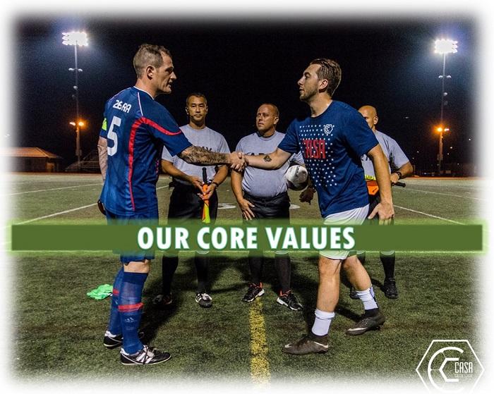 CASA Core Values | Philadelphia Soccer