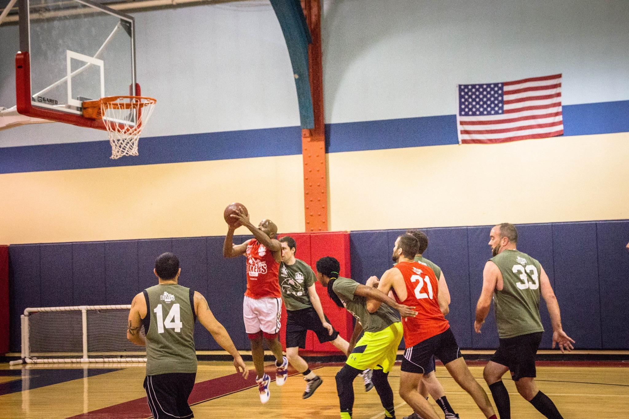 from Dario gay basketball league