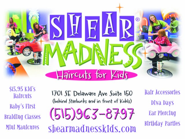 Shear Madness Haricuts for Kids
