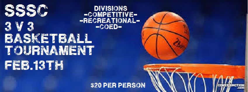 SSSC 3 on 3 Basketball Tournament