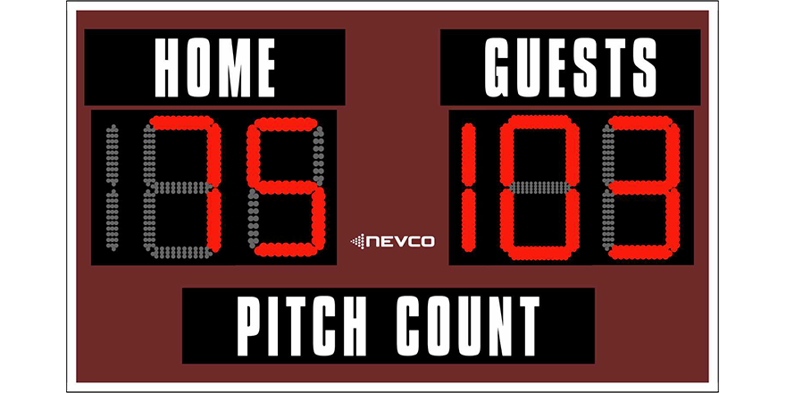 pitch count sheets triangle athletic association