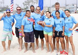 long beach beach football