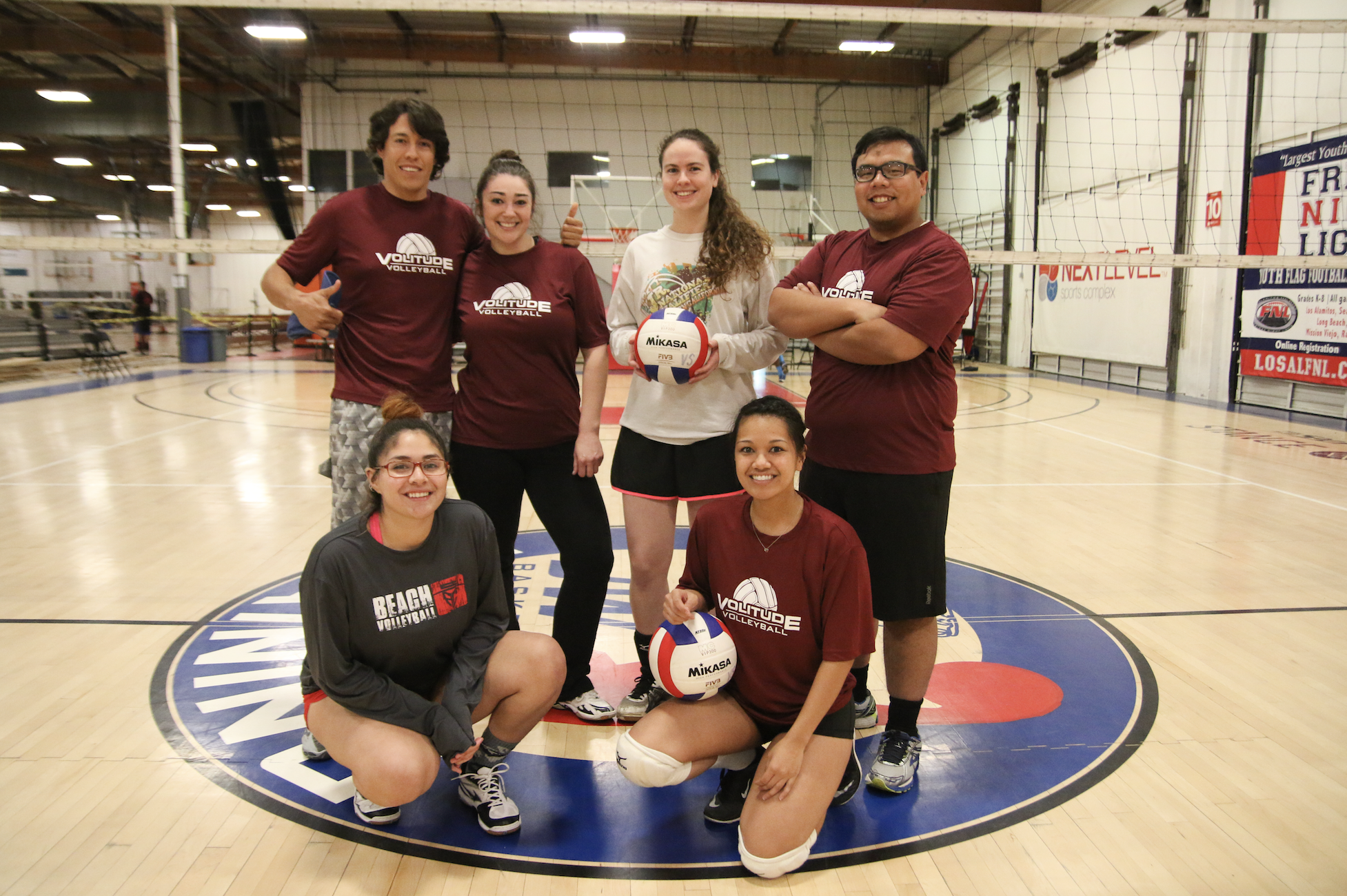 Garden Grove Indoor Soccer Wednesday night 6v6 coed indoor volleyball league in garden grove team dri fit shirts for all players discounted fitness center membership new friends and more team referee fee 10 per week workwithnaturefo