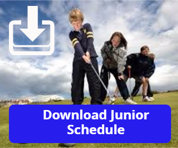 2016 Junior Golf Camp Schedule