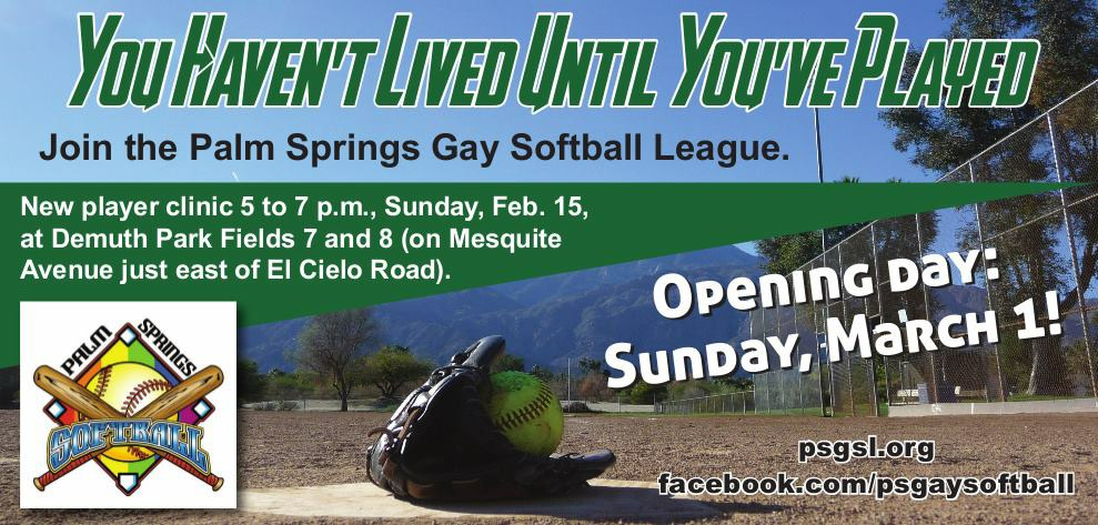 Gay palm softball springs tournament