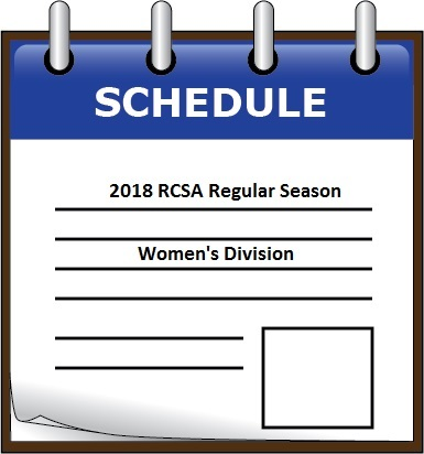 2018 Women's Division Schedule and Standings