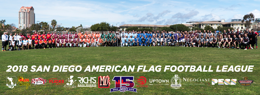 SAN DIEGO AMERICAN FLAG FOOTBALL LEAGUE