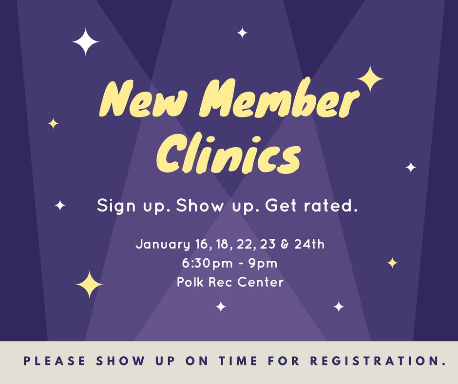 New Member Clinics