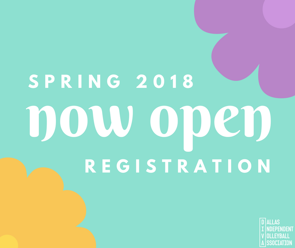 Spring 2018 Registration Now Open