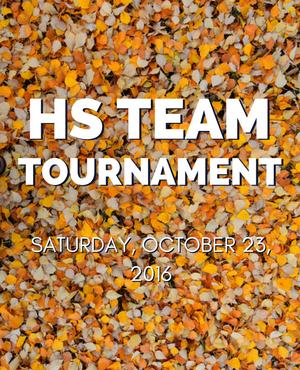 High School Ultimate Tournament