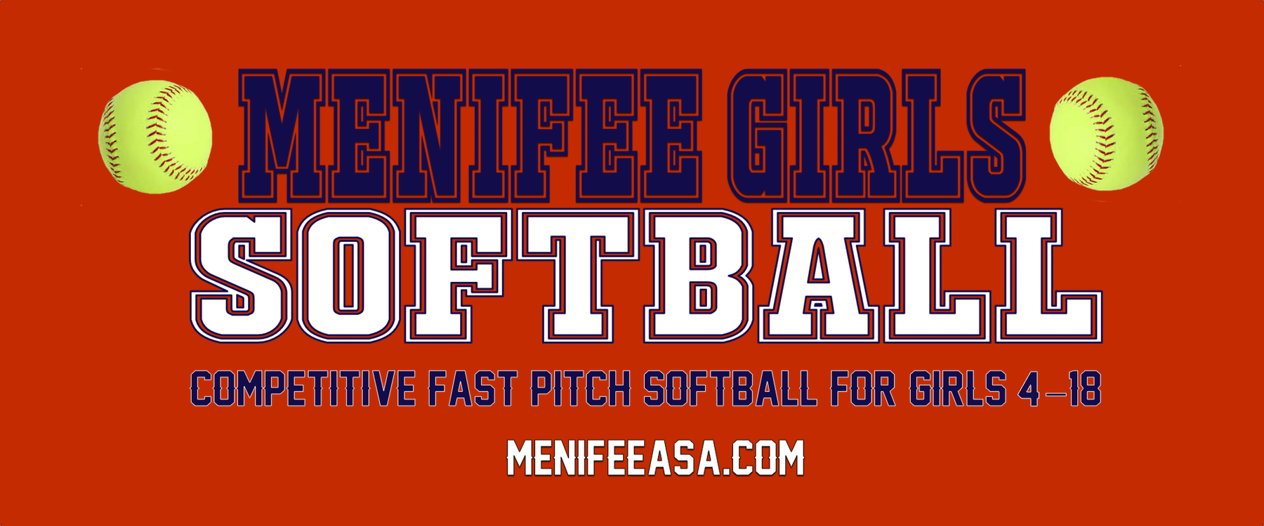 menifee girls These fine organizations make what we do possible please show your support to these amazing sponsors and thank them for their commitment to our organization.
