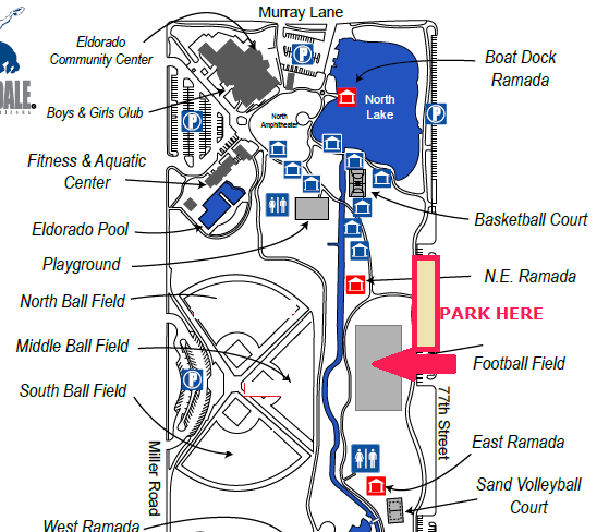 Directions To Chaparral Dog Park