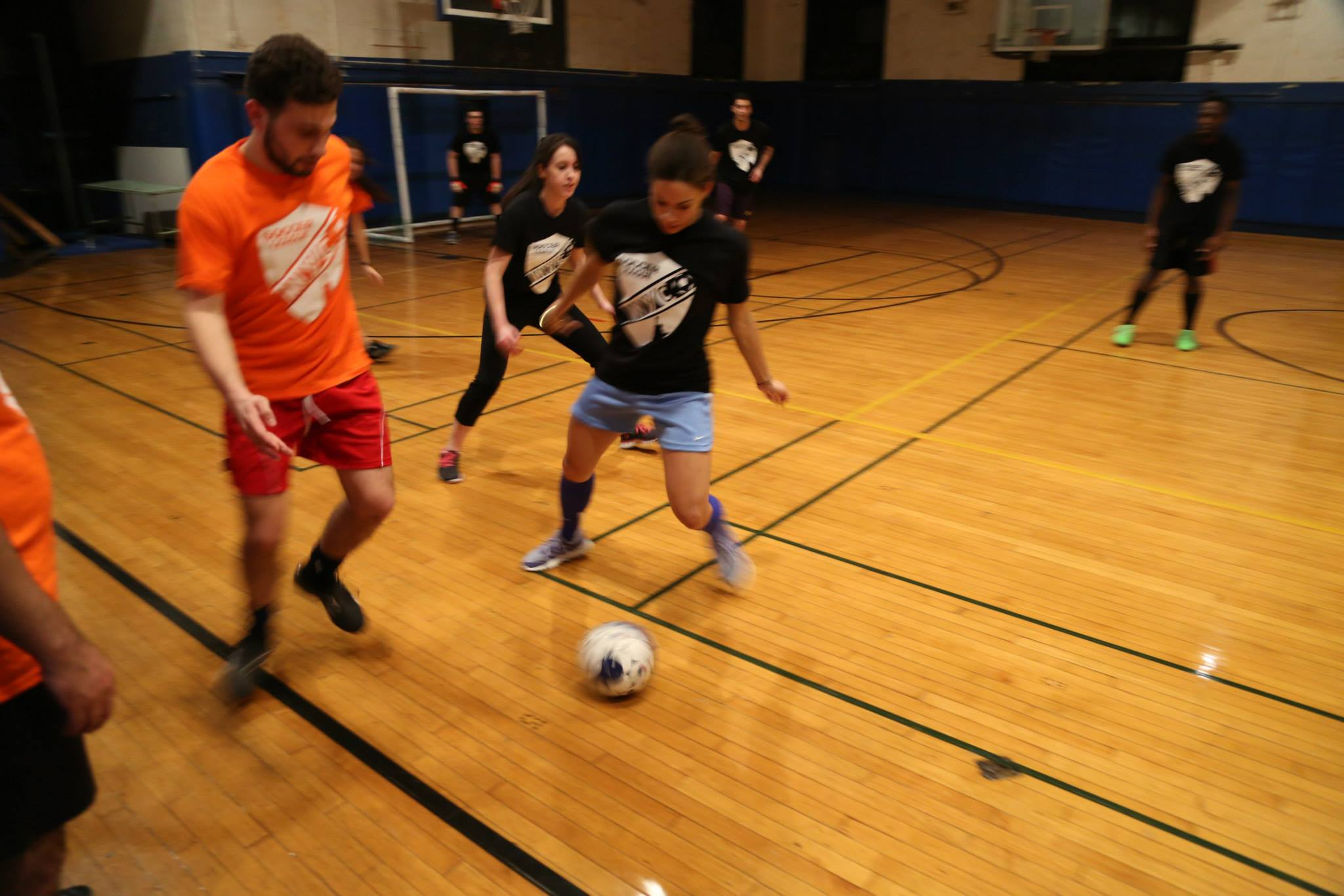 coed soccer College
