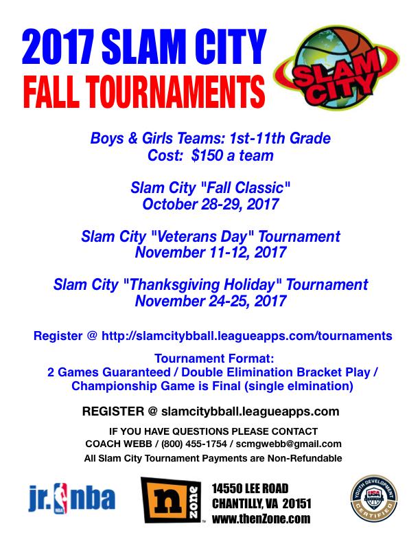 Slam City Tournaments