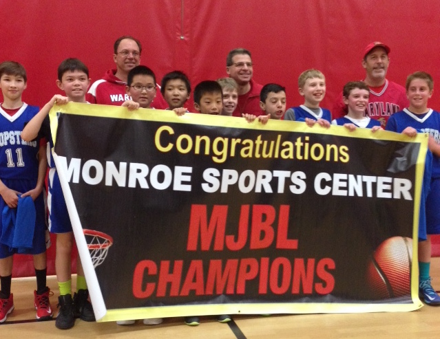 Boys 5th Grade 2015-16 MJBL Champs!