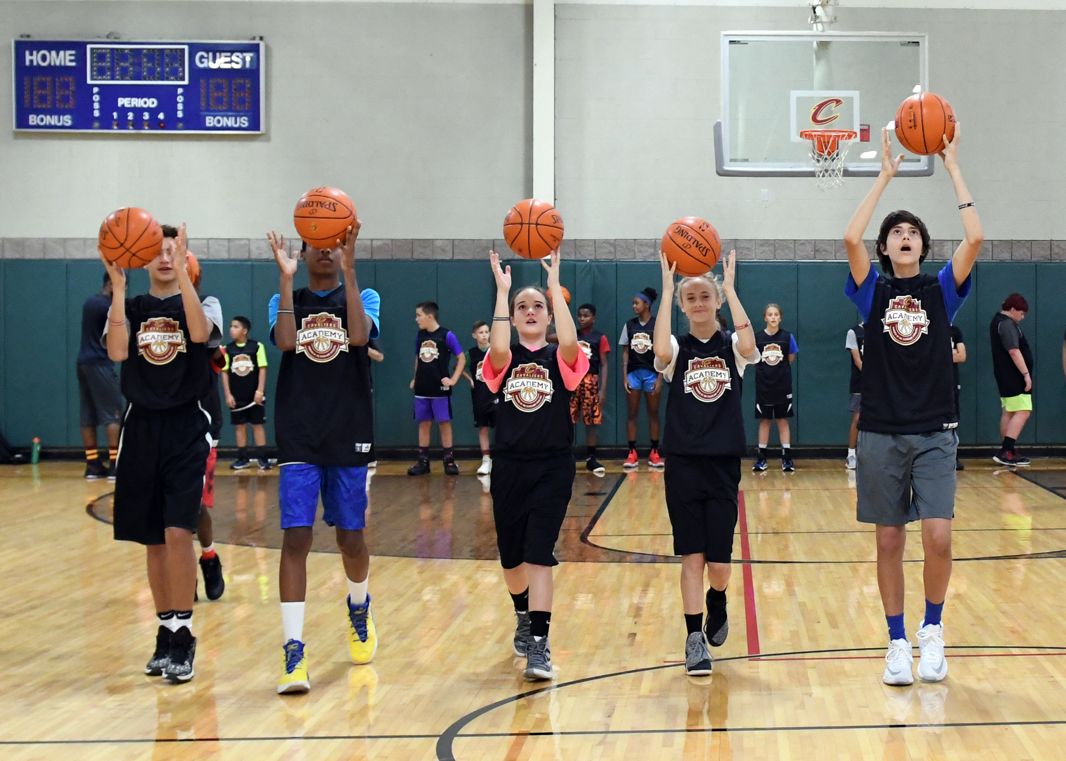 Cavs Academy Elite Clinic Basketball · Co-Ed All Levels