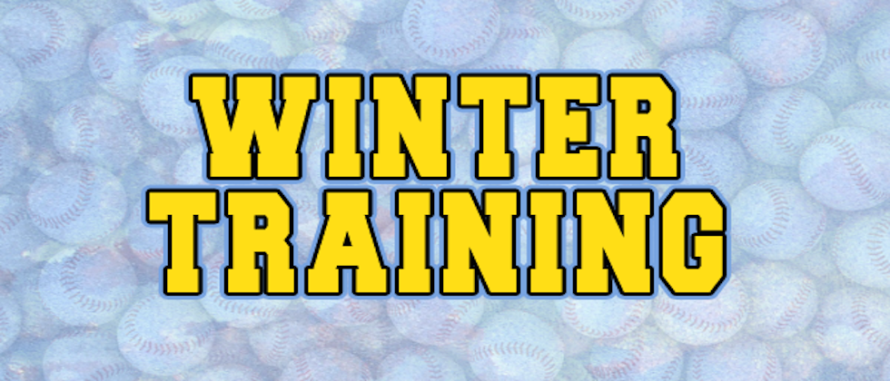 SIGN-UPS LIVE! 2018-19 WINTER TRAINING PROGRAMS