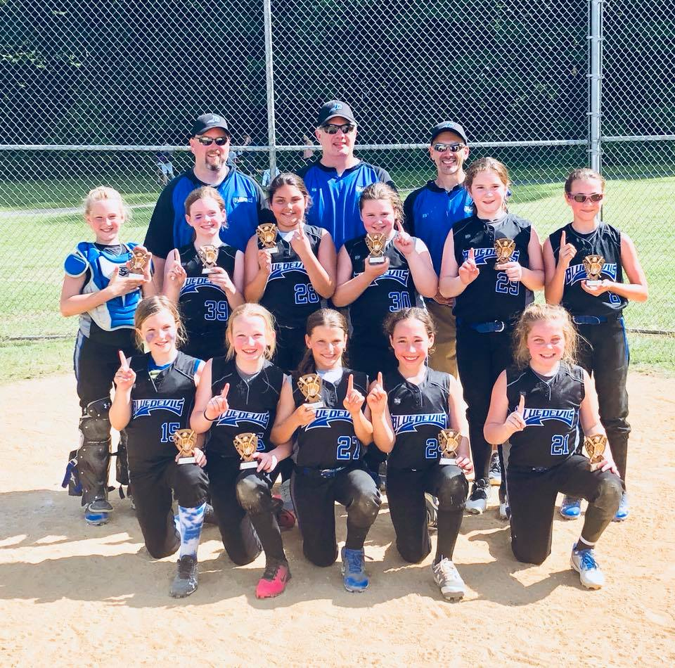 Congrats to the 10u Blue Devils for winning the 2018 Sparta Schools Out Tournament! Way to battle!