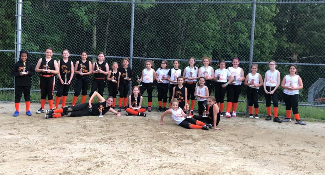 2019 BV Spring 10U Champs and Runners Up!