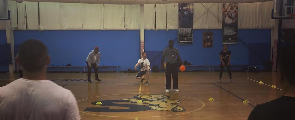 Dodgeball at CSA