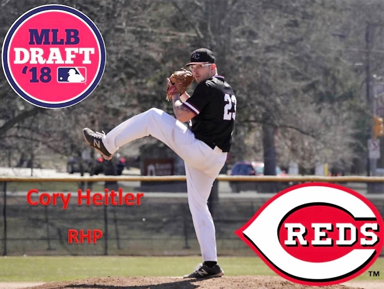Cadet product Cory Heitler drafted by the Cincinnati Reds in 2018.