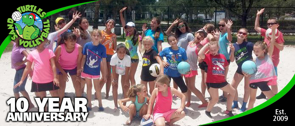 Learn to play volleyball ages 8+