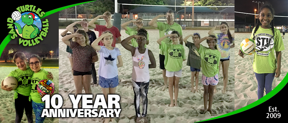 Beginner Volleyball 10 Year Anniversary