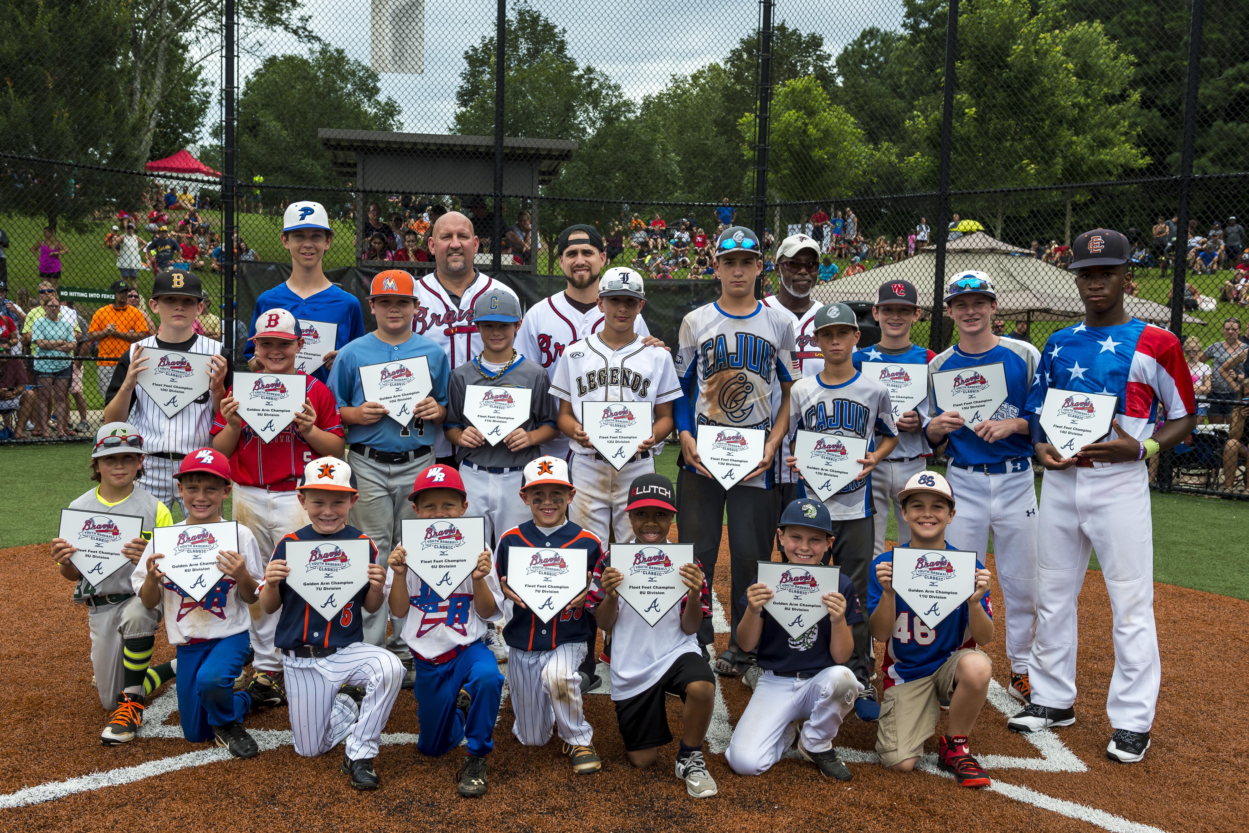 timeless design a331c 74e9a Atlanta Braves Youth Baseball Classic 2018