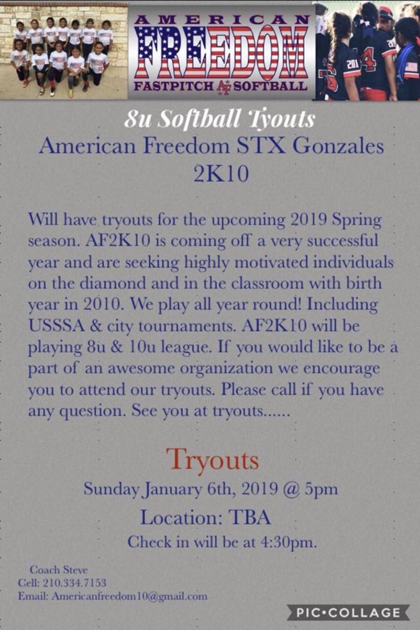 LeagueApps : USA Softball of San Antonio