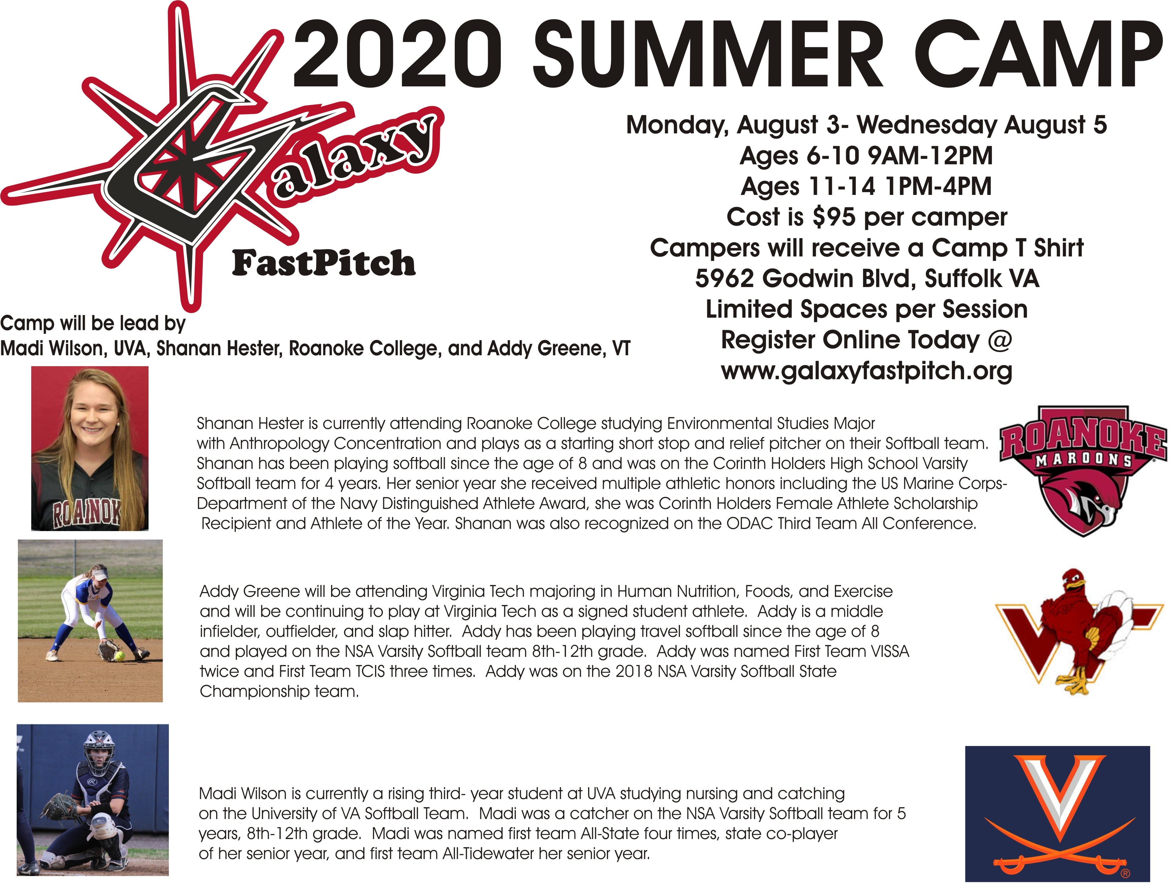 2020 Galaxy Summer Camp
