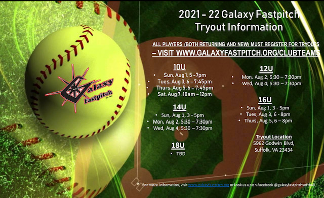2021 Galaxy Tryouts