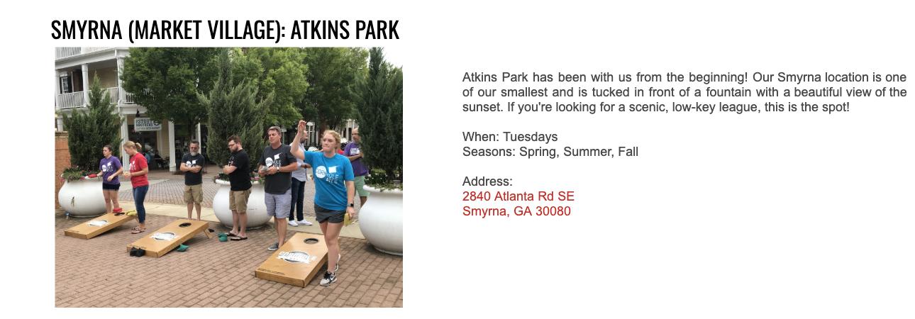 Atkins Park - Smyrna