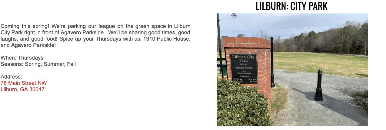 Lilburn City Park