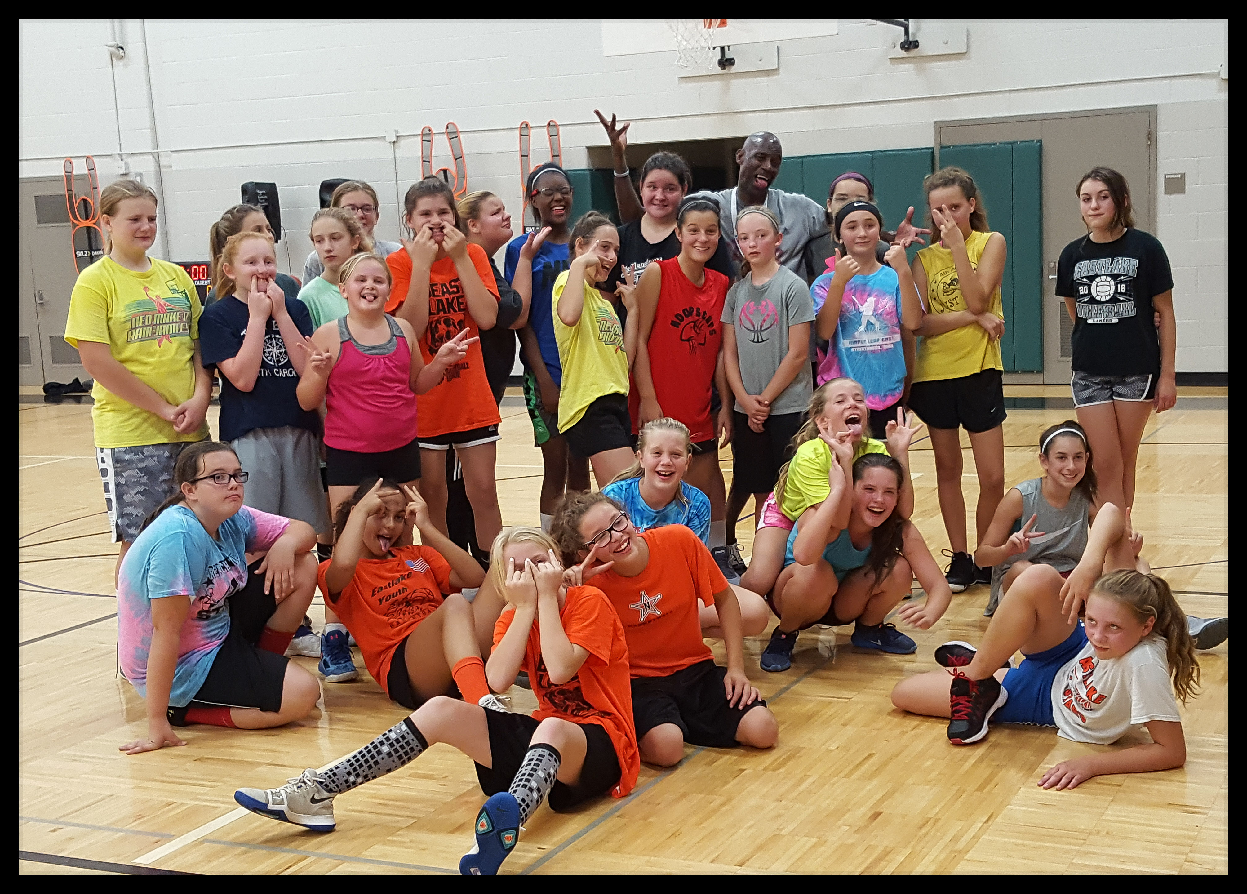 Girls Camp with former NBA Players Stan Kimbrough