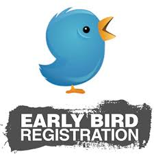 REGISTER BEFORE FEBRUARY 5th @ MIDNIGHT TO SAVE $15!