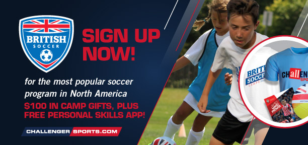 Sign Up for British Soccer Camp! July 30th - August 3rd