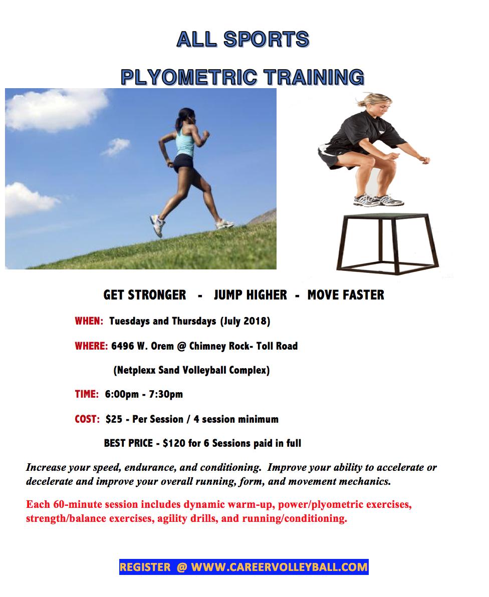 Plyometrics Training : Houston Career Prep
