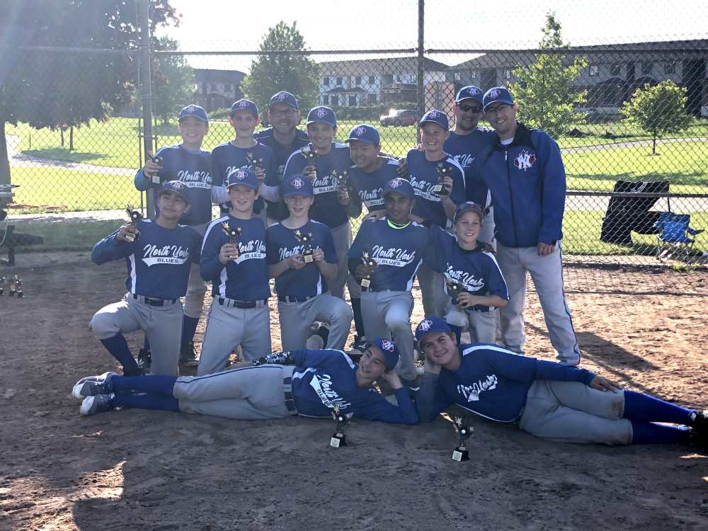 NYBlues 12UA win London Tournament