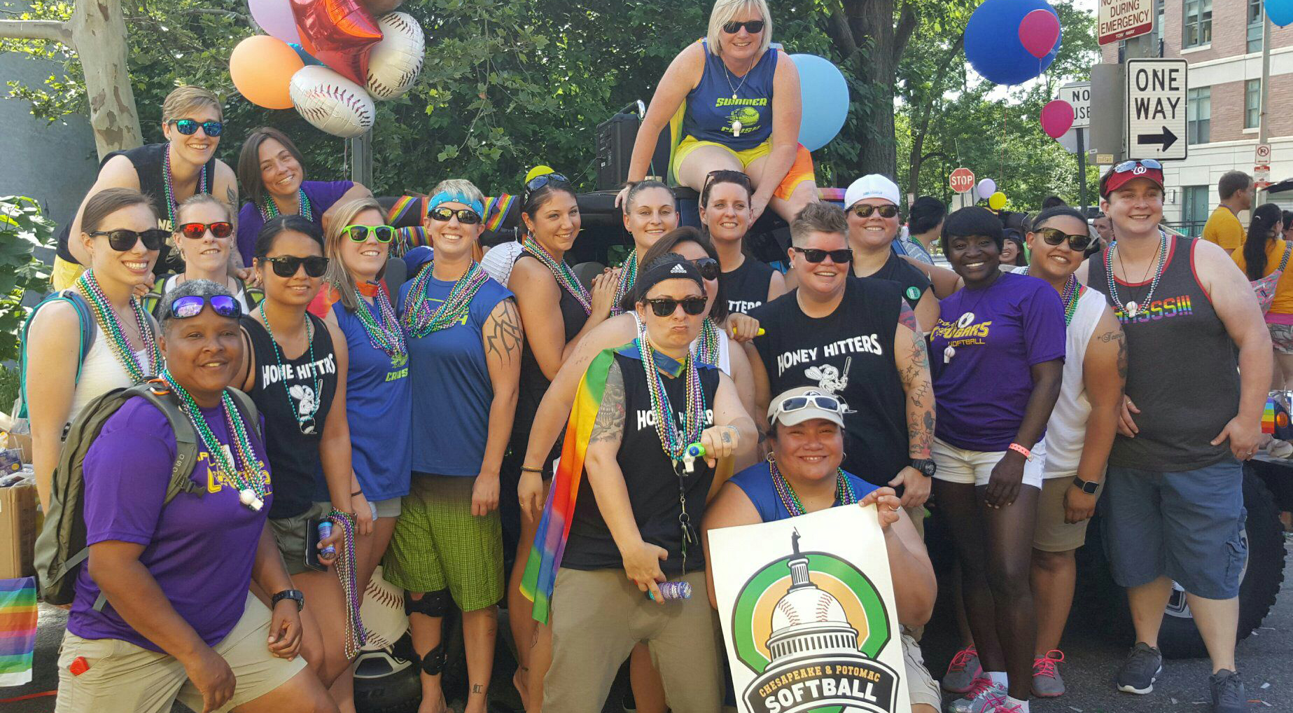 Women's Division at Pride 2016