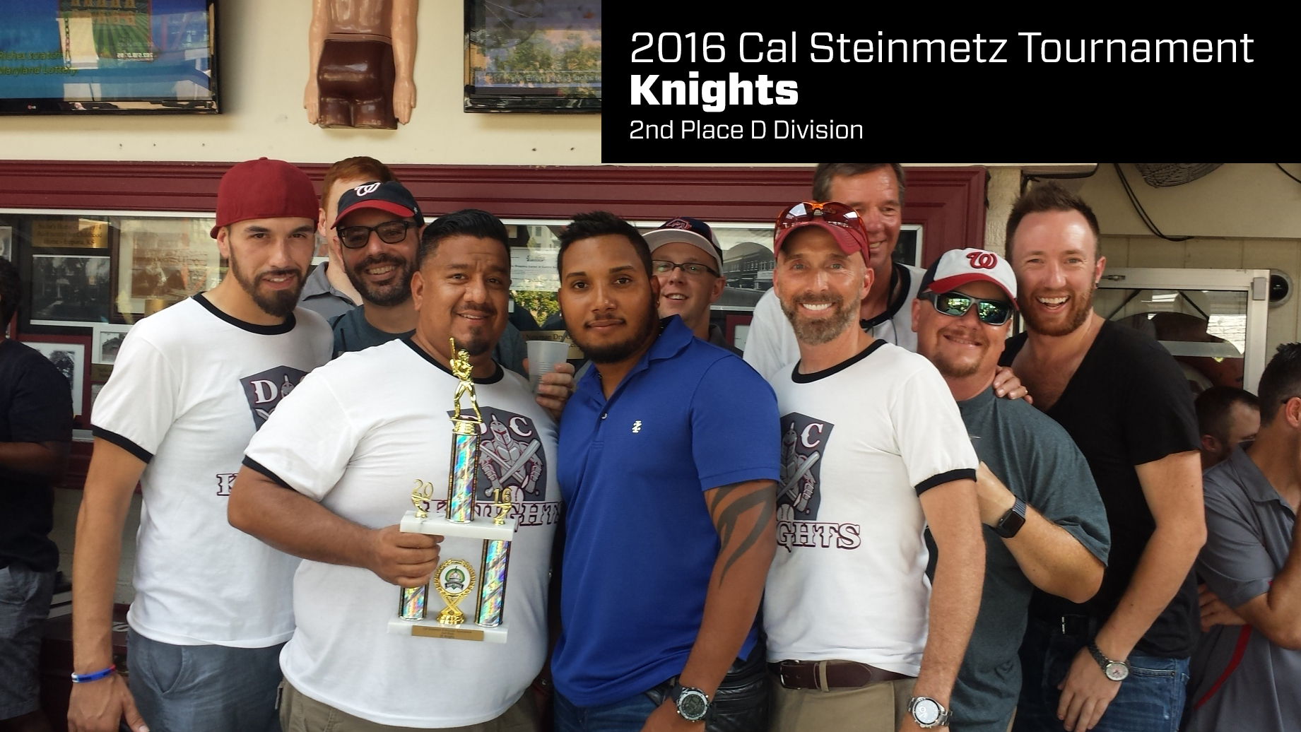 2016 Cal Steinmetz Tournament Winners