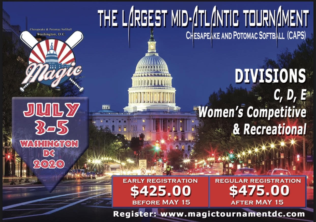 Banner image for MAGIC 2020, C, D, E, Women's Competitive and Recreational Division, $425 entry per team before May 15 and $475 after