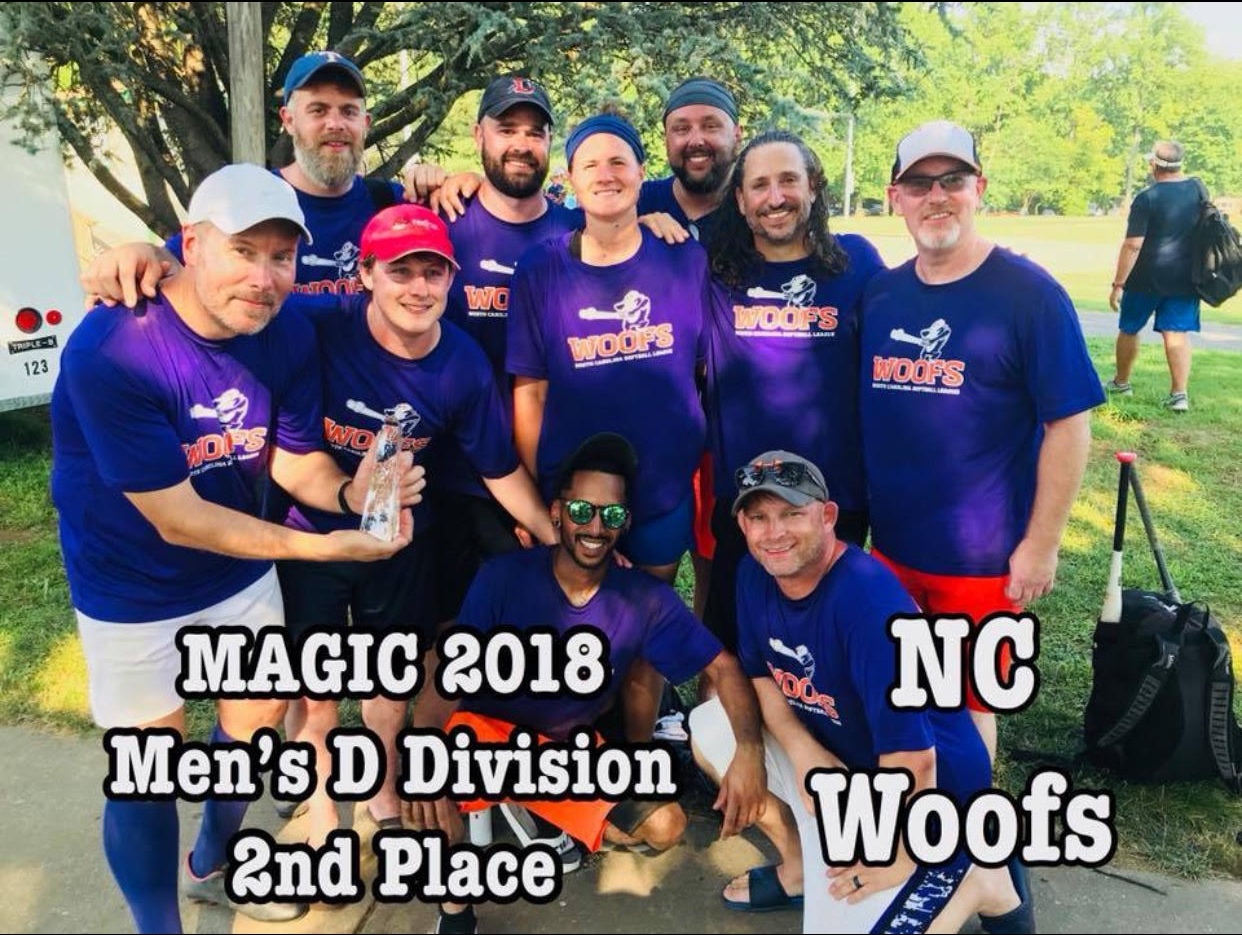 Men's D Division Second Place