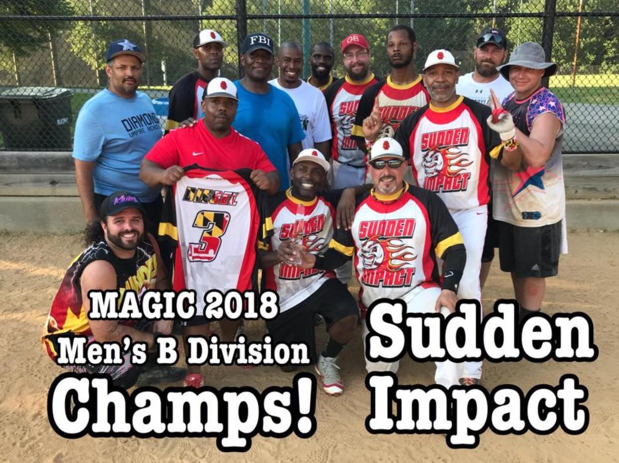 Men's B Division Champs