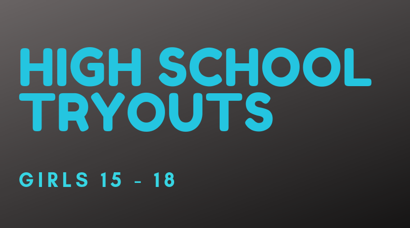 High School Club Volleyball Tryouts 15 years to 18 years