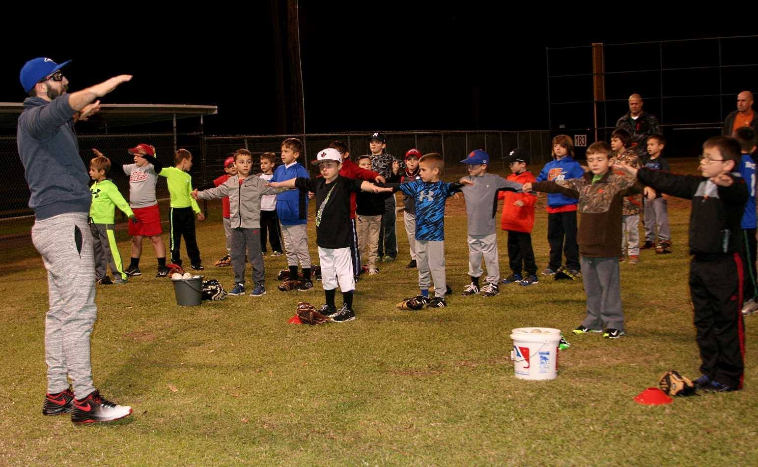 2016 Fall Throwing Clinic