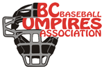 BC Baseball Umpires Association logo