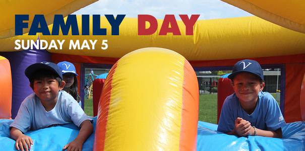Family Day - Sunday May 5