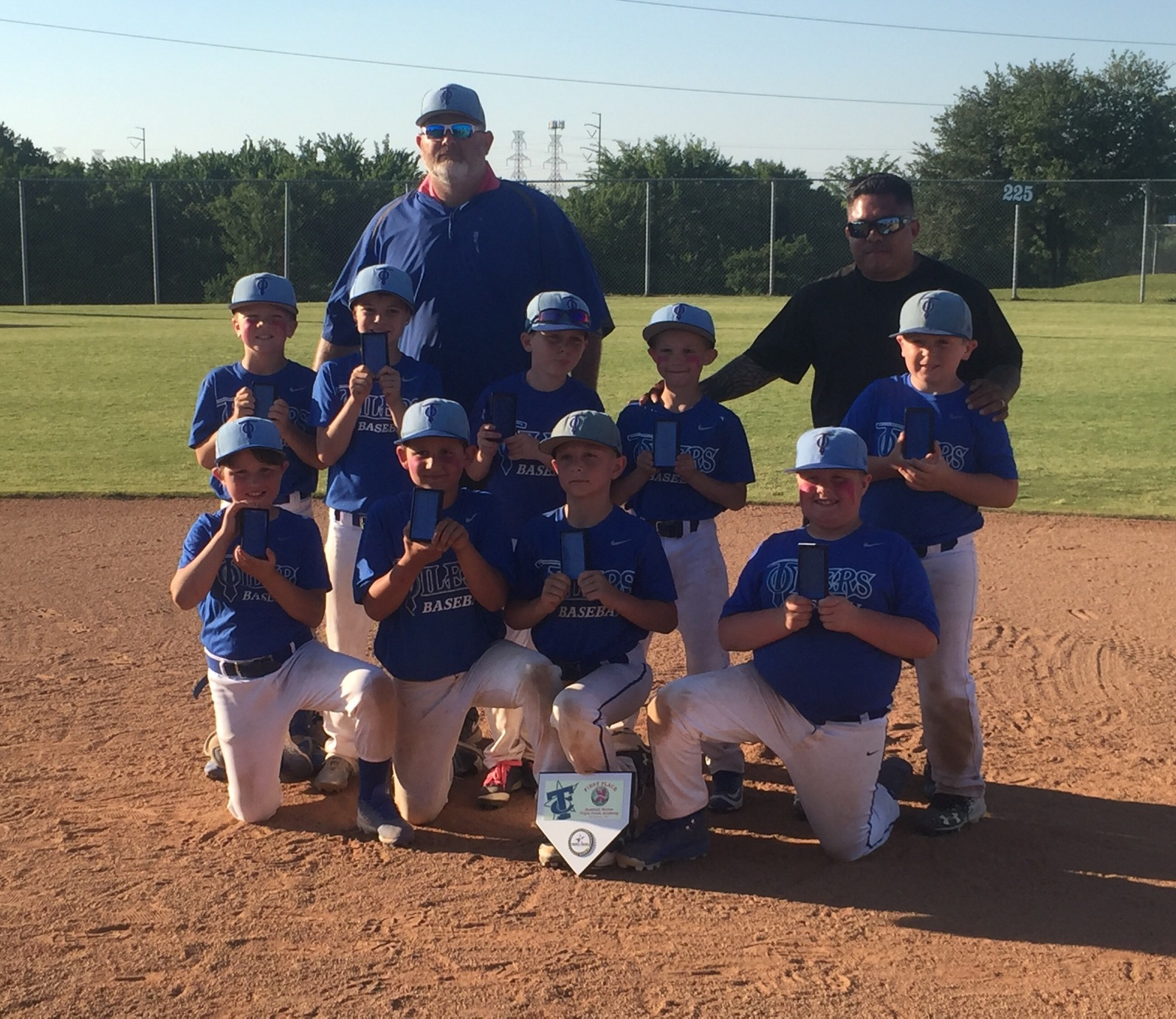 Texas Oilers 9U - Peavy Tournament Champs