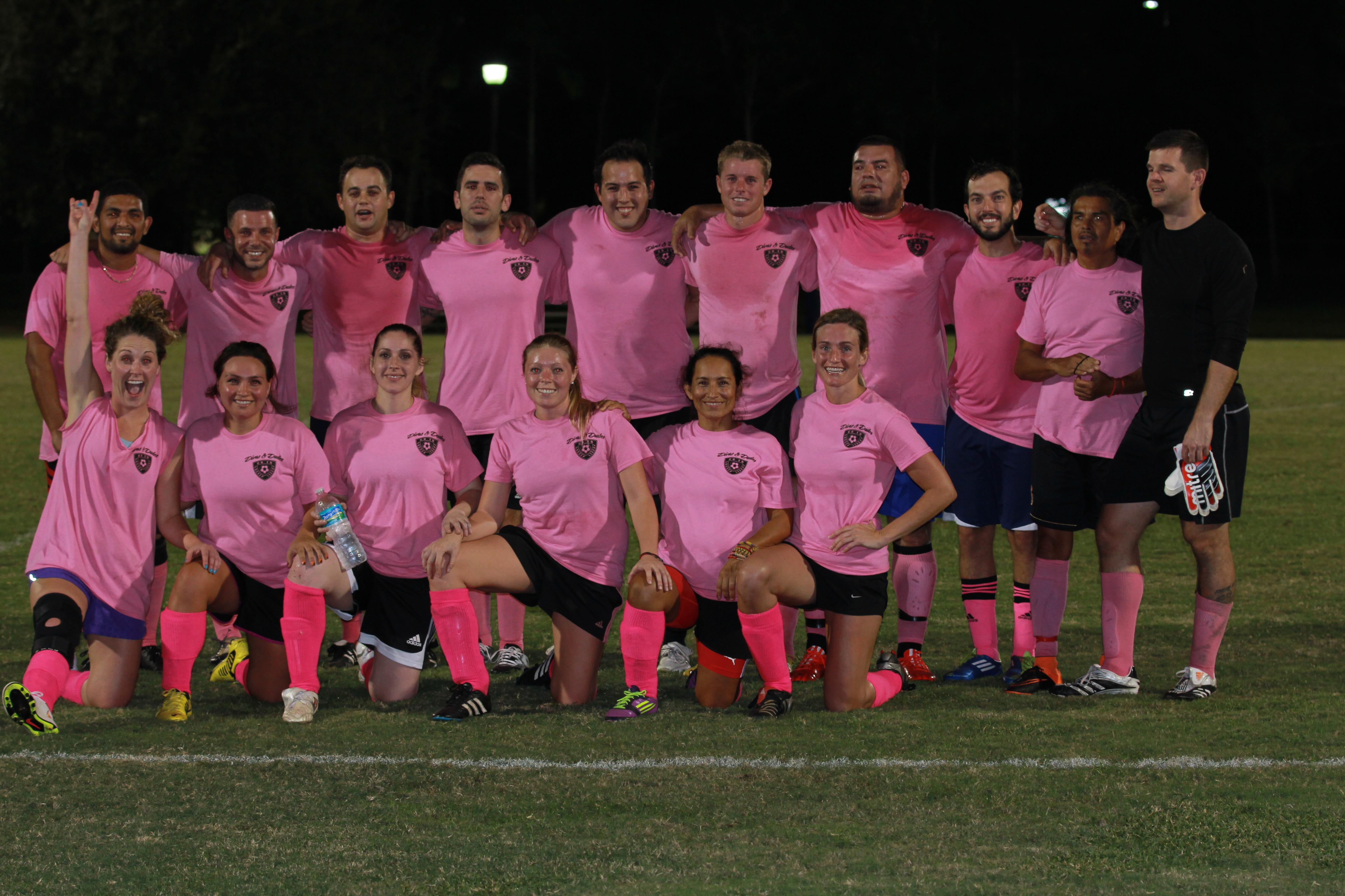 Co-Ed League Flippin Flamingo's