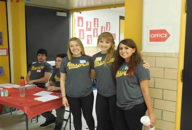 Volunteer for RallyCap!